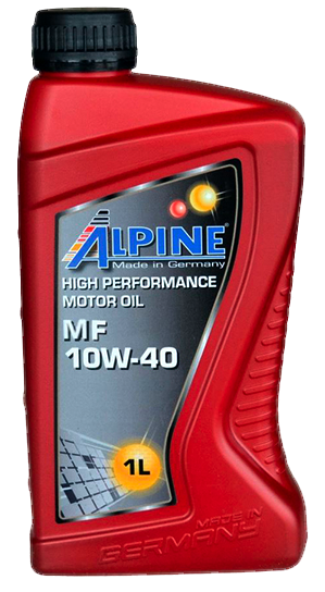 Олива моторна напівсинт. ALPINE 10W-40 MF\
