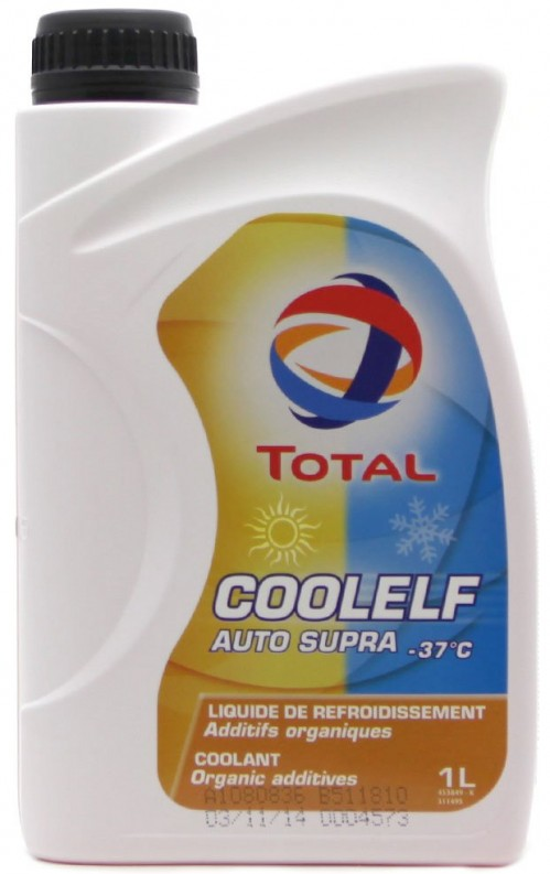 Антифриз Total COOLELF AUTO SUPRA Розовый 1л TOTAL 172766